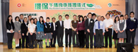Group photos of school/organization representatives and the Guests of Honour (9)