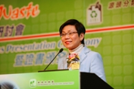 Permanent Secretary for the Environment, Ms. Anissa SY Wong