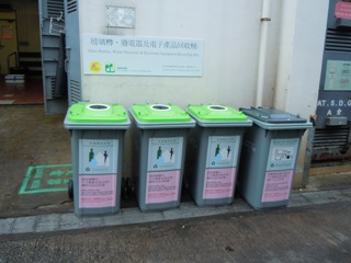 Collection point at Cheung Chau Market