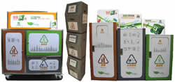 Participated NGO can select different sizes of recycling bins