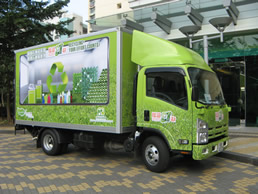 The Community Recycling Promotion Vehicle