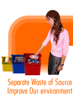 Separate Waste of Source Improve Our Environment