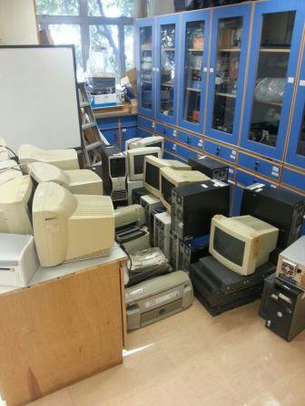 Collected Waste Electrical and Electronic Equipment