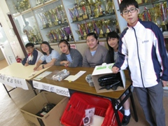 Students and Collection Counter